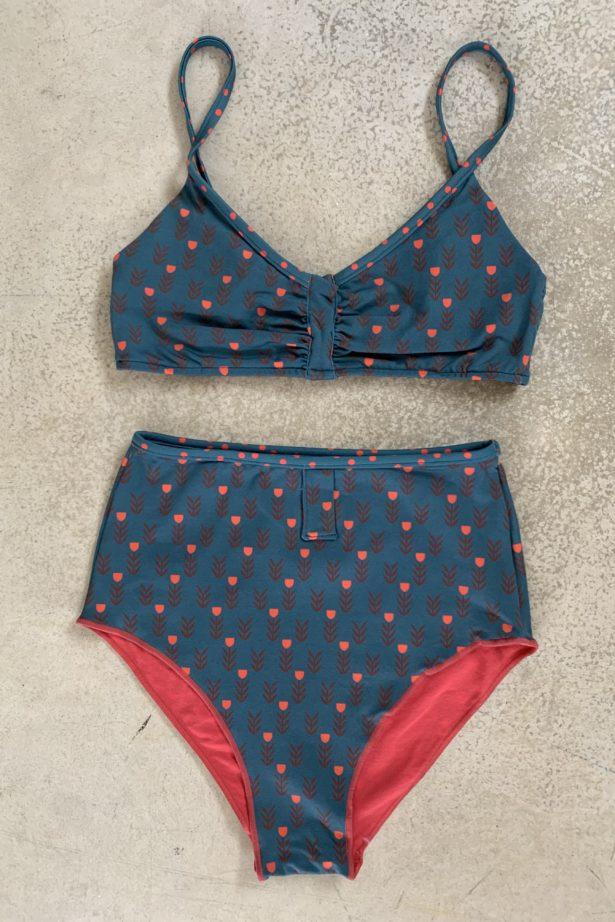 June copa coral - bella Lola bikinis