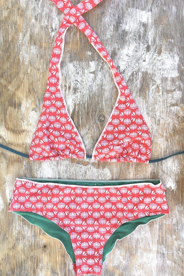 Jade Loto roig - Bella Lola bikinis